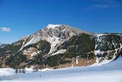 высокогорный ландшафт Лихтенштейн Стоковые Фото