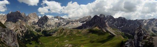 Высокогорный ландшафт стоковое изображение