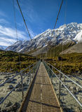 высокогорный мост Стоковое Фото