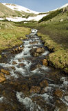 высокогорный поток стоковая фотография rf