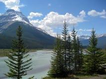 Высокогорный River Valley Стоковое Изображение