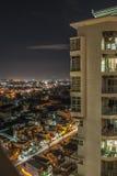 Высокое взгляд сверху зданий города в Вьетнаме Стоковые Фото
