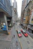 Высокое здание Гонконга Стоковое Изображение RF