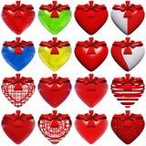 Высокое изолированное сердце разрешения Стоковая Фотография RF