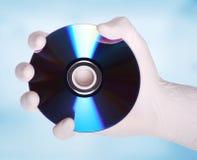 высокое качество dvd диска 3d представляет Стоковое Изображение RF