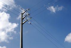 высокое линейное напряжение Стоковое Фото
