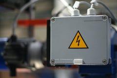 высокое напряжение опасности стоковое изображение rf