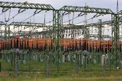 высокое напряжение тока переключателя Стоковые Фотографии RF