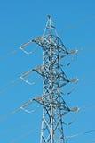 высокое напряжение тока полюса Стоковые Фотографии RF