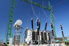 высокое напряжение тока трансформатора Стоковое Изображение RF