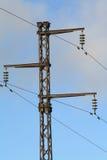 высокое напряжение тока штендера jpg Стоковая Фотография RF