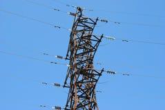 высокое напряжение тока towe Стоковые Изображения