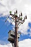 высокое напряжение электричества Стоковая Фотография RF
