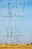 высокое напряжение Стоковое Изображение RF