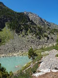 высокое озеро kuiguk гористое Стоковые Изображения