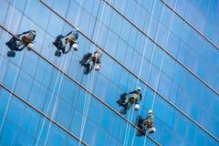 высокое окно шайб подъема Стоковые Изображения RF