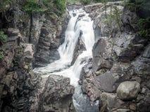 Высокое ущелье падений стоковое фото