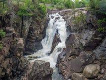 Высокое ущелье падений стоковое изображение