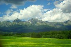 высокое tatra Словакии Стоковые Фотографии RF