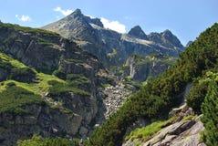 Высокое Tatras в Словакии Стоковые Изображения