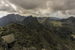 Высокое Tatras в Словакии Стоковые Фото