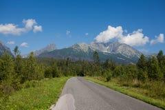 Высокое Tatras Стоковое Изображение
