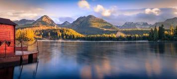 Высокое Tatras - Strbske Pleso Стоковое фото RF