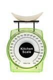 Высококалорийная вредная пища весит больше чем взгляды. Стоковые Фотографии RF