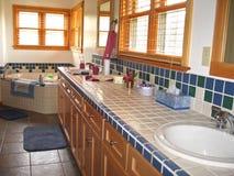 высококачественное ванной комнаты просторное Стоковые Изображения