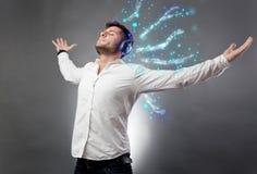 Высококачественные звуки музыки Стоковые Фото