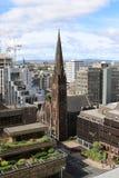 Высокопоставленный взгляд Глазго от улицы Bothwell Стоковые Изображения RF