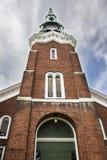 Высокорослая церковь кирпича Стоковое Изображение