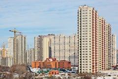 высокорослое зданий самомоднейшее новое Стоковые Фото