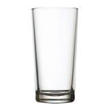 Высокорослое пустое стекло на белом путе клиппирования w Стоковые Фото