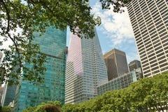 Высокорослые здания небоскреба Стоковое Фото