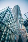 Высокорослые здания highrise в расположенном на окраине города charlotte около blumenthal perf Стоковые Изображения