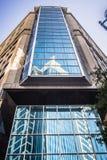 Высокорослые здания highrise в расположенном на окраине города charlotte около blumenthal perf Стоковые Фотографии RF