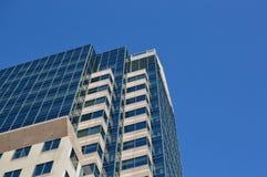 Высокорослые небоскребы дела в сердце Монреаля стоковое изображение rf