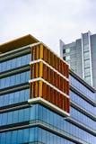Высокорослые офисные здания на олимпийском парке, Сиднее, Австралии Стоковое Изображение