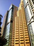 Высокорослый современный экстерьер стекла офисных зданий Стоковая Фотография