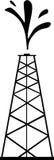 Башня нефти бесплатная иллюстрация