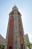Высокорослая башня с часами Стоковое Изображение RF