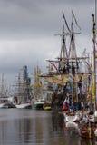 Высокорослая гонка кораблей Стоковые Изображения