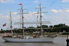 Высокорослая гонка корабля 2016, Антверпен Бельгия Стоковые Фотографии RF