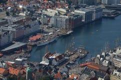 Высокорослая гонка 2015 корабля в Бергене Стоковое Изображение