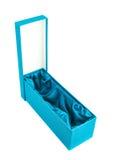 Высокорослая изолированная подарочная коробка Стоковая Фотография
