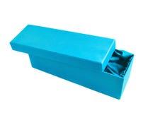 Высокорослая изолированная подарочная коробка Стоковые Фото