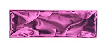 Высокорослая изолированная подарочная коробка Стоковые Изображения