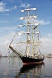 Высокорослая регата кораблей Варна, Болгария Стоковая Фотография