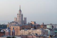 Высокорослое здание СССР в Москве Стоковое Изображение